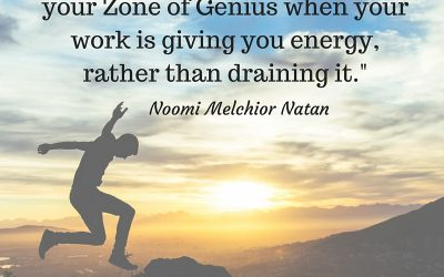 Are you working in your Zone of Genius?