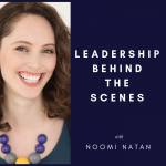 Leadership Behind the Scenes