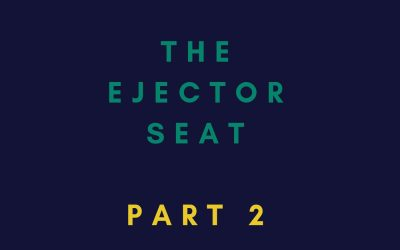 [EP 8] The ejector seat – part 2 – what to do when you have a role where nobody seems to stay