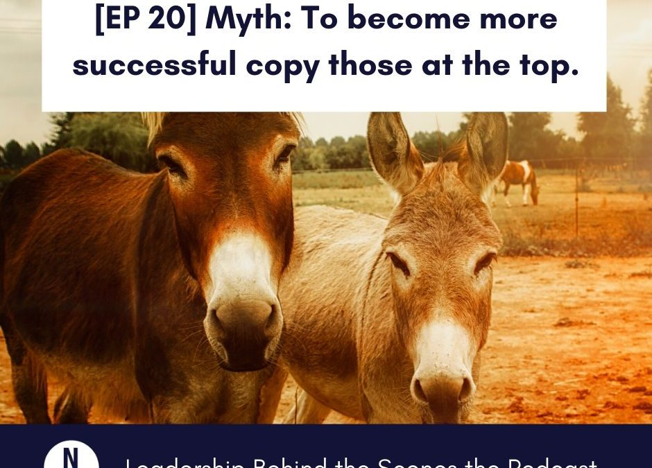 [EP 20] Myth: To become more successful copy those at the top